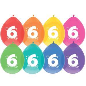 ballonnen-6st-6-jaar-party-time-10384615