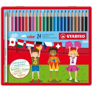 kleurpotlood-swano-stabilo-blik-24-stuks-10487121