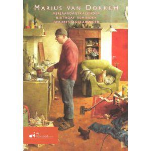 Verjaardagskalender Marius van Dokkum A man's wish