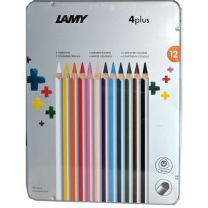 potlood-lamy-4plus-set-à-12-metalen-etui-10583289
