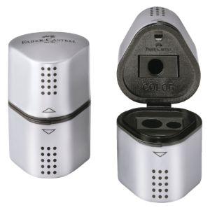 puntenslijper-faber-castel-trio-grip-2001-zilver-106400