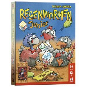 Regenwormen Junior (A13) - Dobbelspel - 999 Games