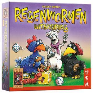 Regenwormen Uitbreiding - Dobbelspel - 999 Games