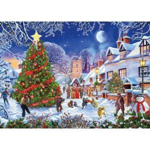 legpuzzel-gibsons-the-village-christmas-tree-1000-stukjes-10784577