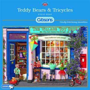 legpuzzel-gibsons-teddy-bears-tricycles-1000-stukjes-10784578