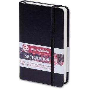 schetsboek-talens-art-creation-9x14-140-gr-zwart-10786713