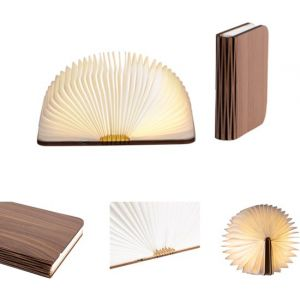 Book Lamp S LEDR® Walnut Brown 9 x 12,3 (B x L)