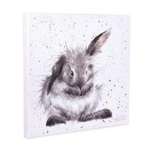 canvas-small-20x20cm-bathtime-wassend-konijntje-wrendale-10881658