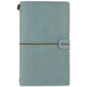notitieboekje-voyager-leer-peter-pauper-light-blue-10888032
