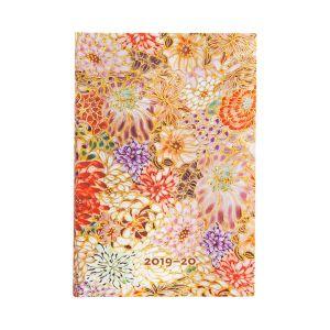 Agenda 18Mnd Paperblanks 20-21 Poetry in Bloom Mini HOR
