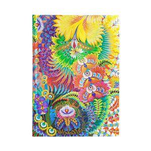 Agenda 18Mnd Flexis Paperblanks 20-21 Butterfly Garden Midi HOR