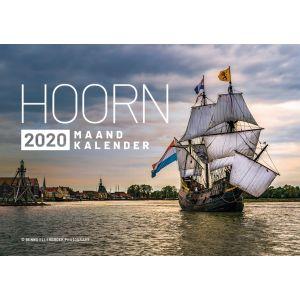 Kalender Hoorn 2020 Benno Ellerbroek maandkalender