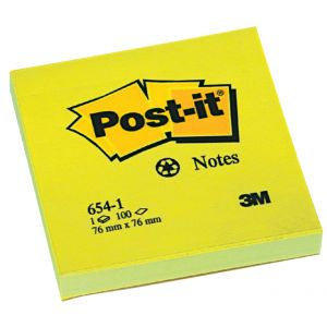post-it-memo-654-recl-geel-76x76mm-pk-á-12-bloks-392559