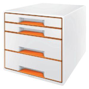 ladenbox-leitz-wow-4-laden-wit-oranje-502995