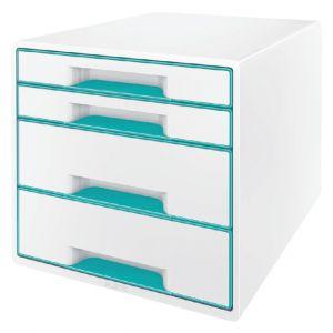ladenbox-leitz-wow-4-laden-wit-ijsblauw-502997