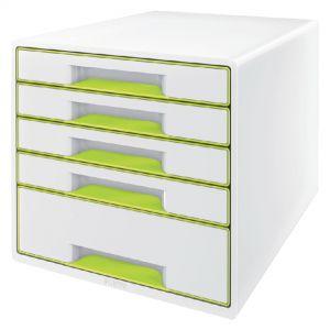 ladenbox-leitz-wow-5-laden-wit-groen-503000