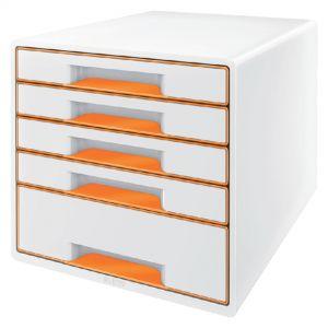 ladenbox-leitz-wow-5-laden-wit-oranje-503002