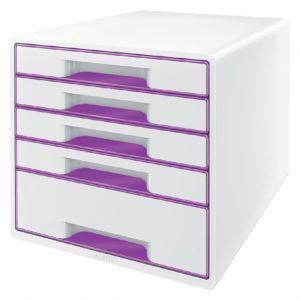 ladenbox-leitz-wow-5-laden-wit-paars-503004
