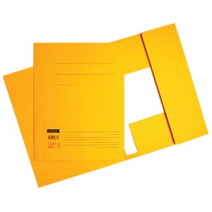dossiermap-quantore-a4-320gr-geel-510105