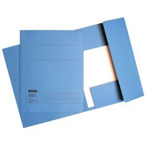 dossiermap-quantore-folio-320gr-blauw-510123