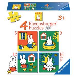 puzzel-ravensburger-nijntje-4x-puzzels-6-9-12-16-stuks-62712