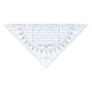 geodriehoek-aristo-1550-160mm-flexibel-transparant-736300