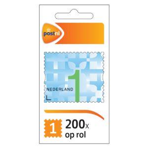 postzegel-zakenpostzegel-nederland-1-op-rol-200-stuks-890700