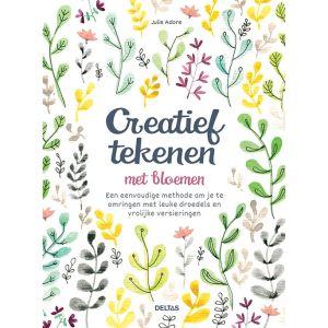 Creatief tekenen met bloemen