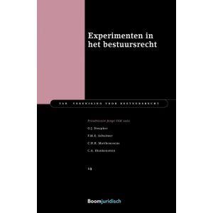 Experimenten in het bestuursrecht