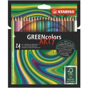 kleurpotloden-greencolors-etui-24-stuks-stabilo-10960994