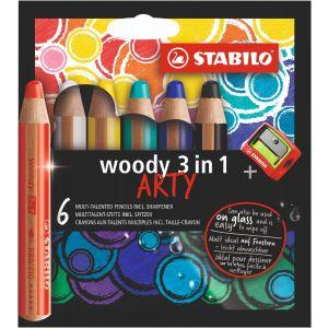 woody-etui-6-stuks-puntenslijper-stabilo-10960999