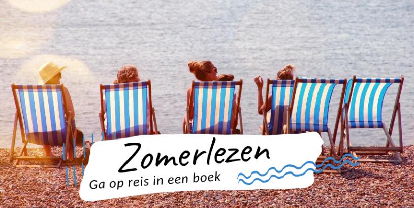 Je zomer begint met boeken