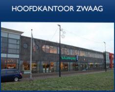 Hoofdkantoor Stumpel in Zwaag (Stumpel KantoorMarkt, Stumpel Design, Stumpel ICT)