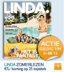 Linda zomerlezen - €5 korting op geselecteerde boeken!