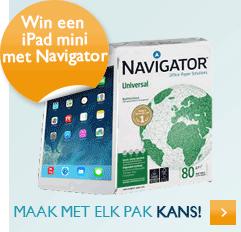 Navigator ipad mini actie