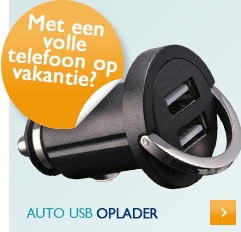 Auto usb oplader