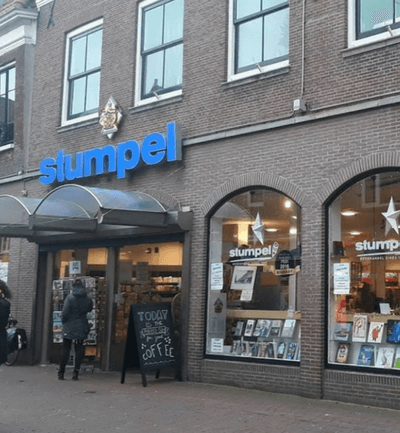 Boekhandel Stumpel in Hoorn (Centrum)